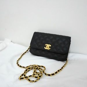 Chanel 7 x 4 x 2 Black